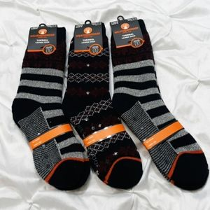 Weatherproof Thermal Lounge Socks (3) 1 Pks 10-13